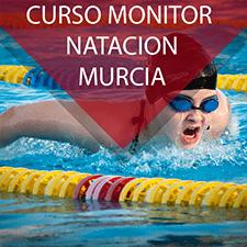 Curso de monitor de natación en Murcia