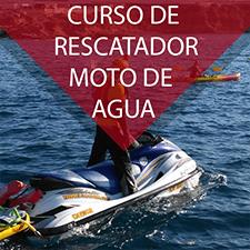 Curso de rescatador con moto de agua de salvamento