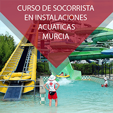 Curso de socorrista de instalaciones acuaticas en Murcia