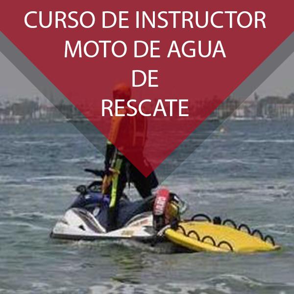 CURSO DE INSTRUCTOR DE MOTO DE AGUA DE RESCATE