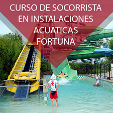 Curso de socorrista de instalaciones acuaticas en Fortuna